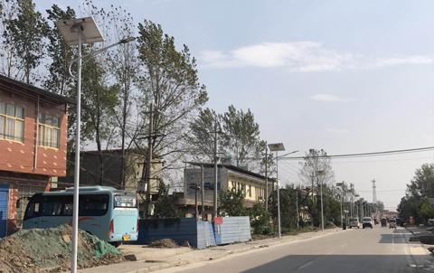 安徽亳州太阳能路灯