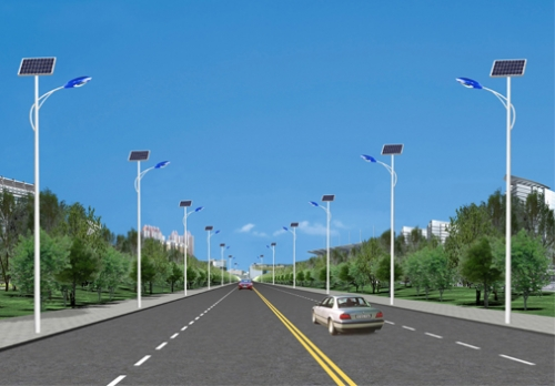 6米太阳能路灯价格的电池板应该选哪个方向