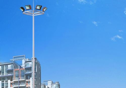 升降式高杆灯由主杆、起落体系、灯盘还有灯头组成