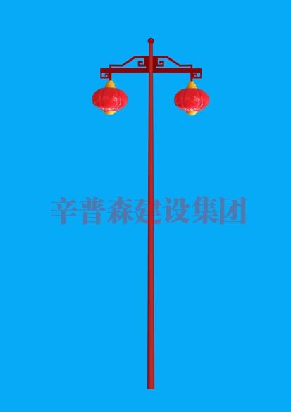 中国结庭院灯