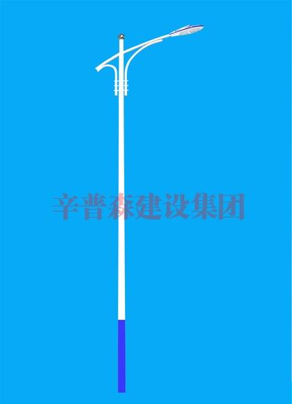 6米单臂路灯杆