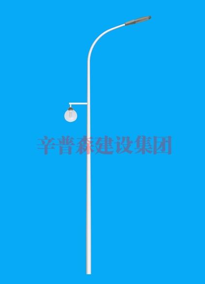 12米单臂路灯灯杆