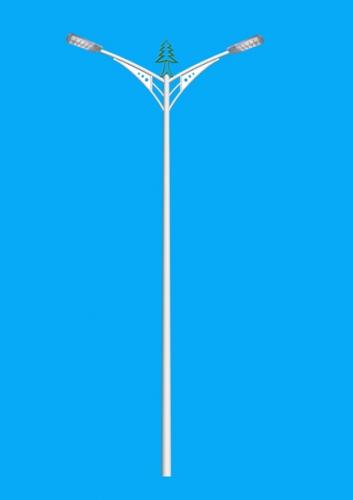 6米双臂路灯灯杆