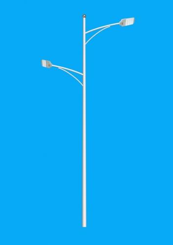 双臂路灯灯杆